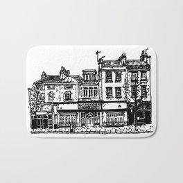 Three Establishments, Whiteladies Road, Bristol. Bath Mat