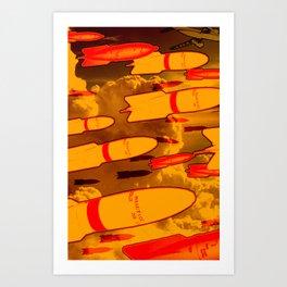 Rockets Man Art Print