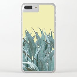 Agaves Clear iPhone Case