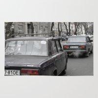 ukraine Area & Throw Rugs featuring Odessa Ukraine by Sanchez Grande