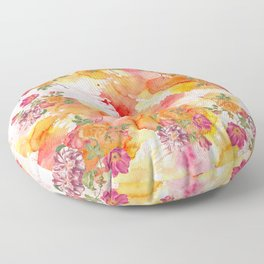 Ring a ring o' roses Floor Pillow