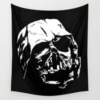 dark side Wall Tapestries featuring The Dark Side by Vee Ladwa
