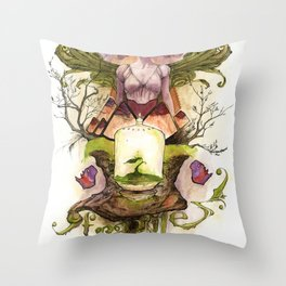 The Genesis Throw Pillow