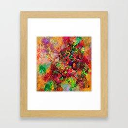 Geranium abundance Framed Art Print