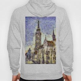 The Church Vincent Van Gogh Hoody