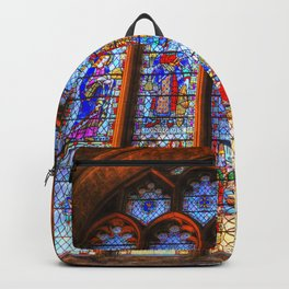 Bath Abbey Stained Glass Window Backpack