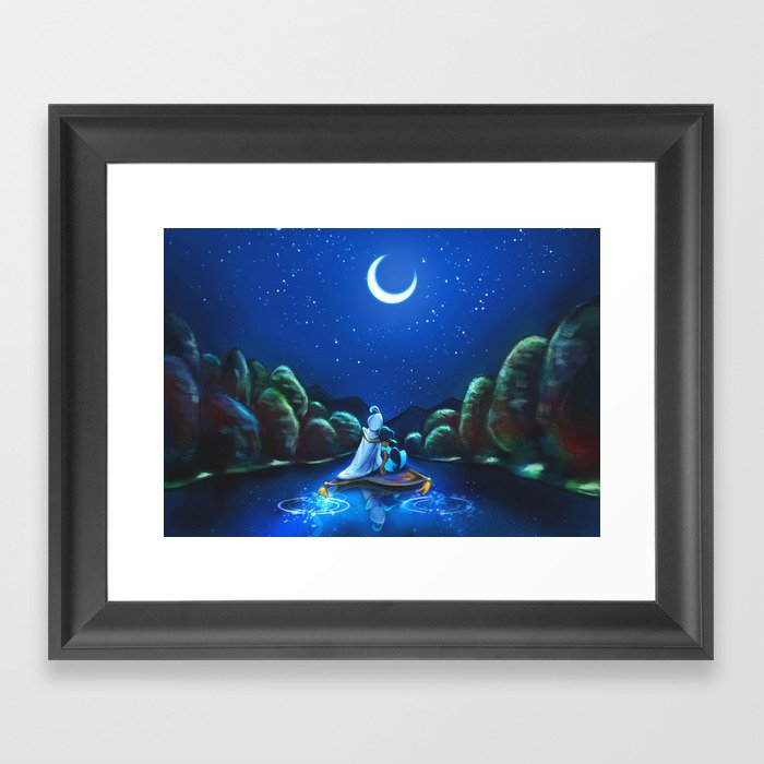 A Wondrous Place Framed Art Print