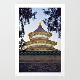Temple of Heaven Art Print