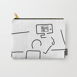 web designer graphic artist Carry-All Pouch