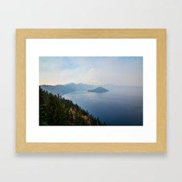 Crater Lake, Oregon Framed Art Print