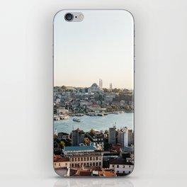 Perfect Turkish Sunsets - Istanbul, Turkey iPhone Skin