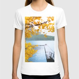 343. Minnewanka Lake under the snow, Banff, Canada T-shirt