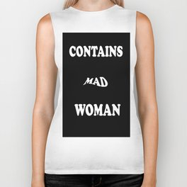Contains Mad Woman Biker Tank