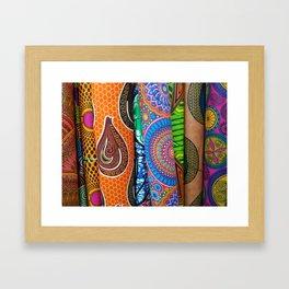 Bolt-Coloring Framed Art Print