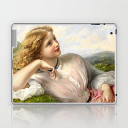 """Sophie Gengembre Anderson """"The Song of the Lark"""" Laptop & iPad Skin"""
