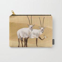 Arabian Oryx Carry-All Pouch
