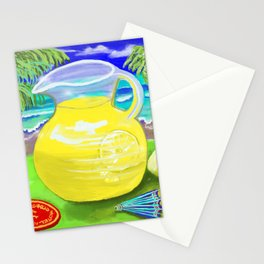 Lemon Paradise Stationery Cards