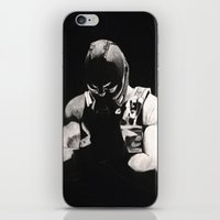 bane iPhone & iPod Skins featuring Bane by a vitruvian man