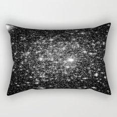 staRs Black & White Rectangular Pillow