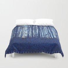 Denim Designs Winter Woods Duvet Cover