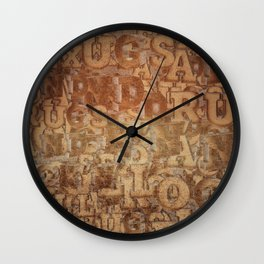 Sex and Drugs and Rock 'n' Roll - RETRO Wall Clock