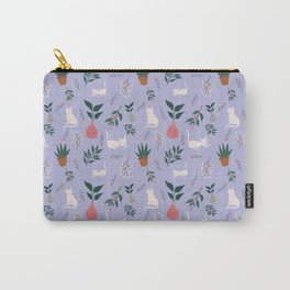 Cats and Plants Carry-All Pouch