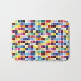 Pantone Color Palette - Pattern Bath Mat