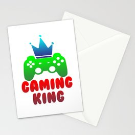 Gaming King Gamer Play Controller Konsole Online Stationery Cards