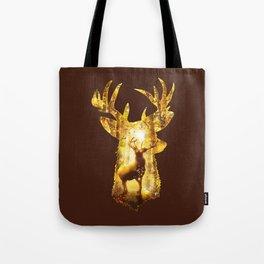 Deer's Woods Tote Bag
