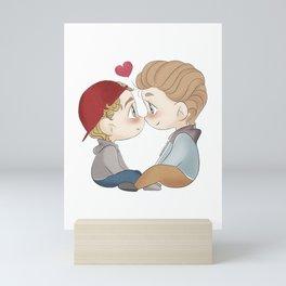 Isak and Even chibi Mini Art Print