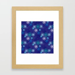 Snow and Ice Framed Art Print