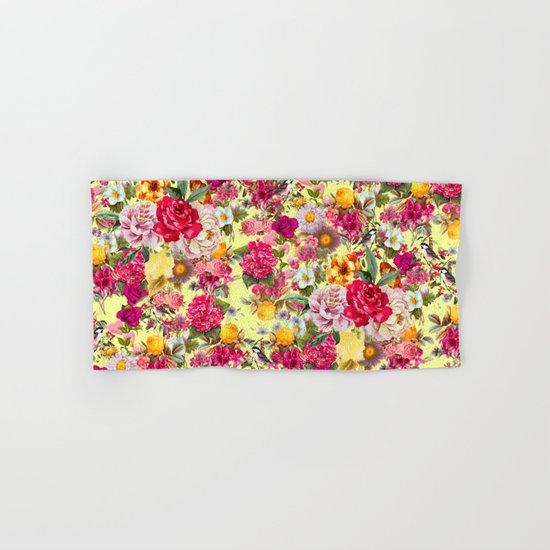 Botanic Pattern Hand & Bath Towel