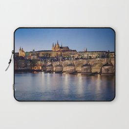 Prague Castle and Charles Bridge Laptop Sleeve