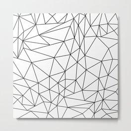 Bedlam Blanc Metal Print