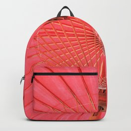 Red umbrella Backpack