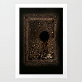 The eye of the underworld Art Print