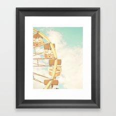 Ferris Wheel Framed Art Print