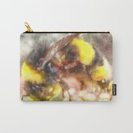 Busy Busy Busy Watercolor Carry-All Pouch