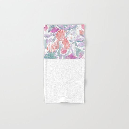 summer modal harmony Hand & Bath Towel