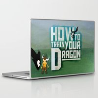 how to train your dragon Laptop & iPad Skins featuring HOW TO TRAIN YOUR DRAGON - Fantasy | Animation | Movie | Fantastic | Childer | Sci-fi by Gianluca Lucchese