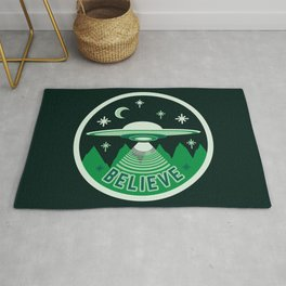 UFO Believe Rug