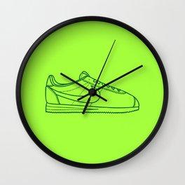 """Cortez """"L I M E"""" Wall Clock"""