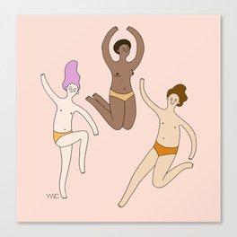 Let's Dance! Canvas Print
