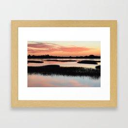 Intracoastal Sunrise Framed Art Print