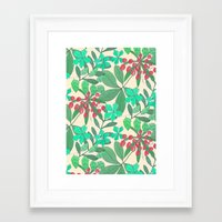 botanical Framed Art Prints featuring Botanical by Louise Elizabeth