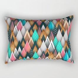 Abstract tt Rectangular Pillow