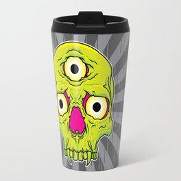 3 Eyed Jackass (green) Travel Mug