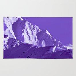 Alaskan Mts. I, Bathed in Purple Rug