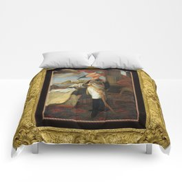 Framed Tyrant Tupuxuara Comforters