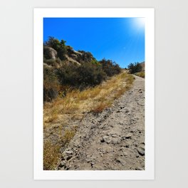 Dust and Dirt Art Print